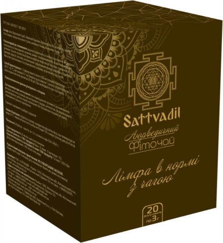 Аюрведический чай Лимфа в норме, с чагой | ROSA