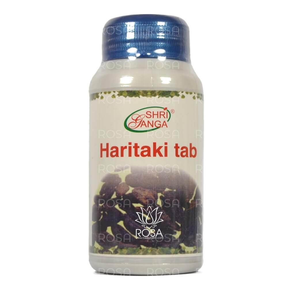 Харитаки (Haritaki, Shri Ganga), 120 таблеток ॐ Бутик ROSA