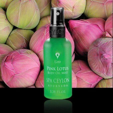 Масло-спрей для тела Розовый Лотос Spa Ceylon ॐ Бутик ROSA