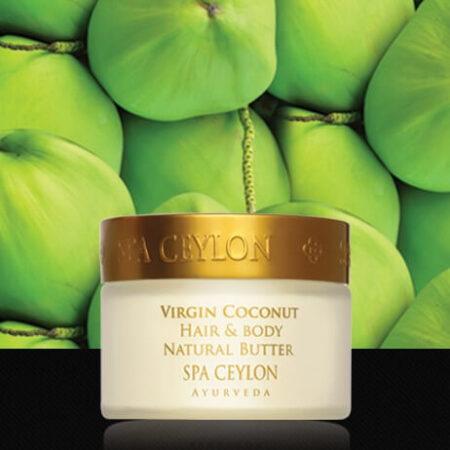 Натуральное кокосовое масло для волос и лица ॐ Бутик ROSA