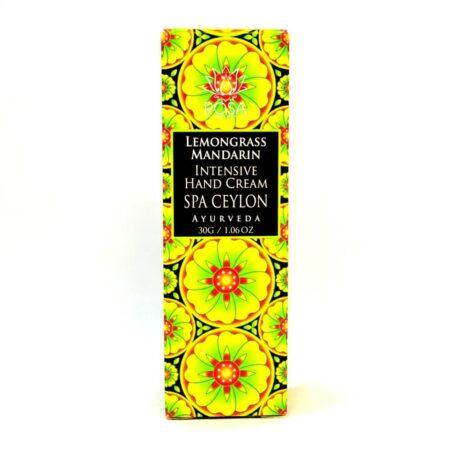 Интенсивный крем для рук Лемонграсс и мандарин ॐ Бутик ROSA