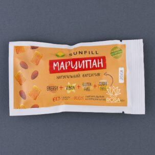 Веганский батончик Марципан SunFill, 40 грамм ॐ Бутик ROSA
