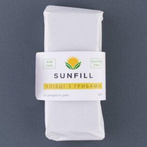 Хлебцы Грибные Sunfill