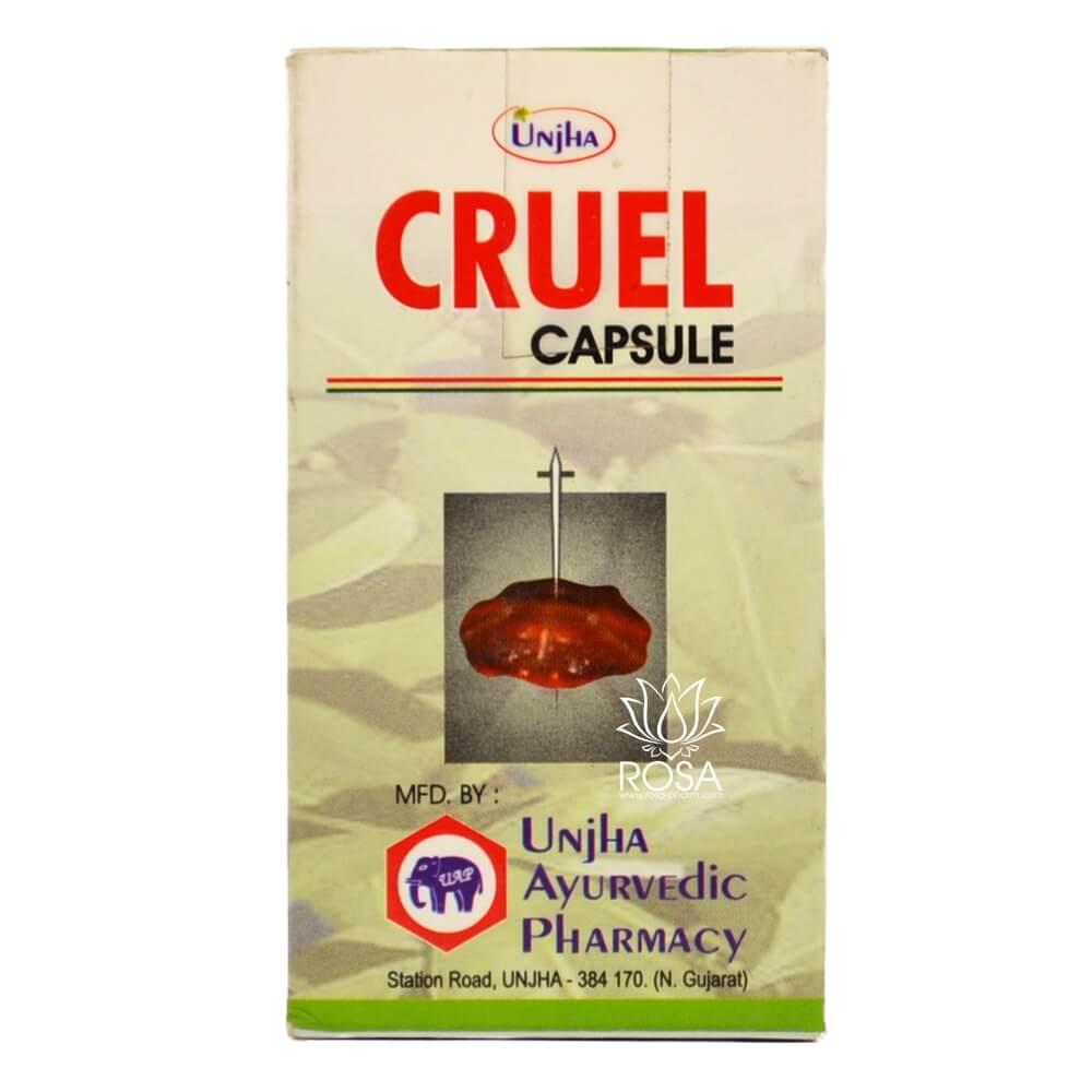 Круэль (Cruel, Unjha) - лечение туберкулеза и анемии ॐ Бутик ROSA