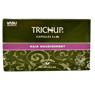 Травяные капсулы для роста волос Тричуп