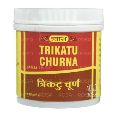 Трикату Чурна (Trikatu Churna, Vyas Pharmaceuticals) ॐ Бутик ROSA