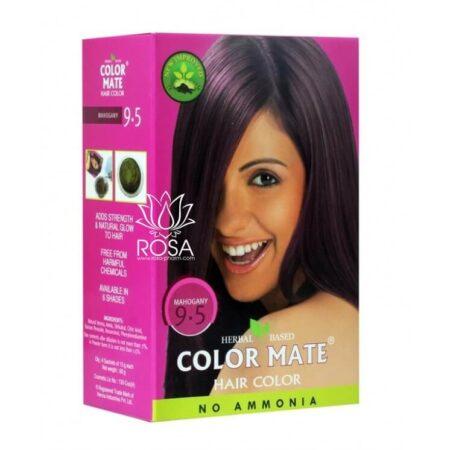 Краска для волос Color Mate 9.5 Mahogany ॐ Бутик ROSA
