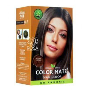 Краска для волос Color Mate 9.2 Natural Brown ॐ Бутик ROSA