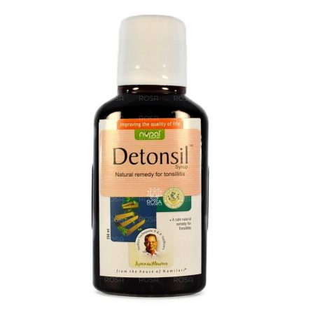 Детонсил сироп (Detonsil Syrup, Nupal Remedies) ॐ Бутик ROSA