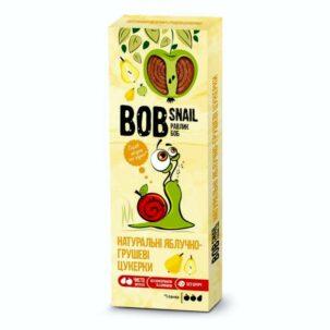 Натуральные яблочно-грушевые конфеты Равлик Боб