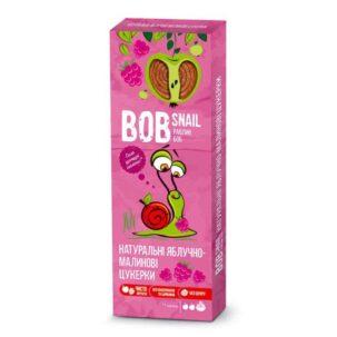 Натуральные яблочно-малиновые конфеты Равлик Боб