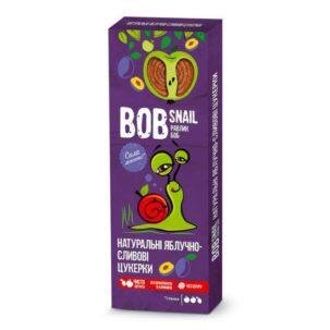 Натуральные яблочно-сливовые конфеты Равлик Боб