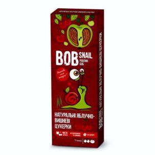 Натуральные яблочно-вишневые конфеты Равлик Боб