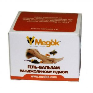 Гель-бальзам на пчелином подморе Медок купить в Бутике аюрведы премиум качества