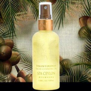НЕРАФИНИРОВАННОЕ кокосовое масло для очищения лица