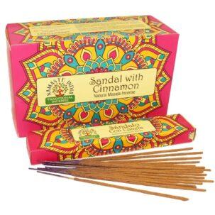 Благовония Сандал с Корицей (Sandal with Cinnamon, Orkay) купить в Бутике аюрведы