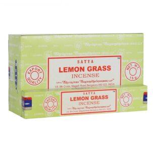 Благовония Лемонграсс (LemonGrass, Satya) 15 грамм купить в Бутике аюрведы