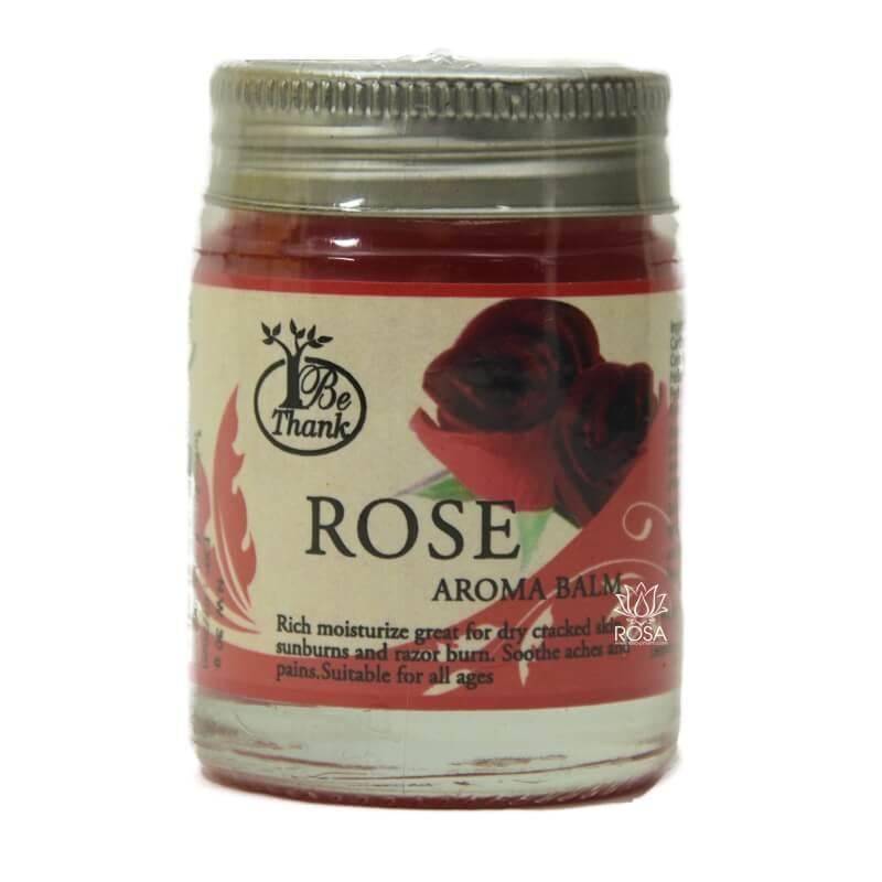 Цветочный бальзам для массажа и ухода за кожей Роза ॐ Бутик ROSA