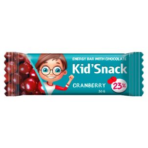 Энергетический батончик Kid'snack Клюква