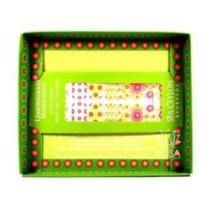 Арт-сет для ногтей Лемонграсс Мандарин (Spa Ceylon) ॐ Бутик ROSA