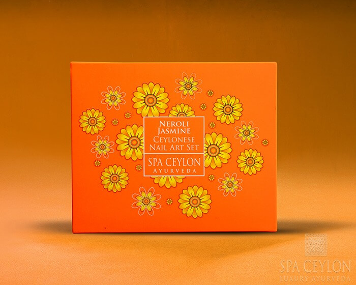 Арт-сет для ногтей Нероли и жасмин (Spa Ceylon) ॐ Бутик ROSA