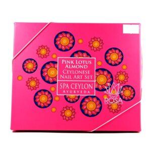 Арт-сет для ногтей Розовый лотос (Spa Ceylon) ॐ Бутик ROSA