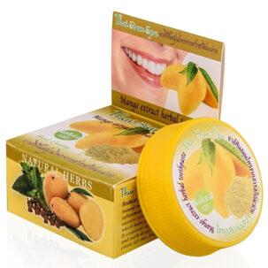 Тайская отбеливающая зубная паста Манго ॐ Бутик ROSA
