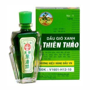 Лечебный согревающий бальзам-масло Чыонг Шон