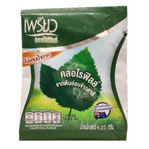 Чистый растворимый хлорофилл в порошке Preaw купить в Бутике аюрведы премиум