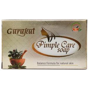 Мыло от прыщей Pimple Care Gurukut купить в Бутике аюрведы премиум качества ROSA