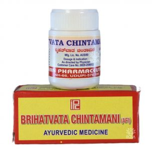 Indian Pharmaceutical Brihatvata Chintamani 1 Mini