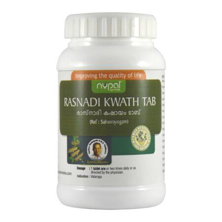 Nupal Remedies Rasnadi Kwath Tab 1