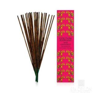 Аромапалочки Розовый грейпфрут Spa Ceylon купить в бутике аюрведы ROSA PHARM