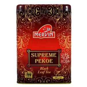 Чёрный чай Суприм Пеко Мервин (black Leaf Tea)
