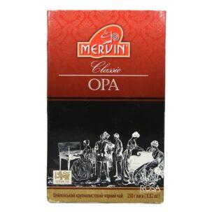 Крупнолистовой черный чай Mervin (classic Black Tea)