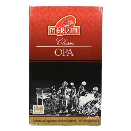Крупнолистовой черный чай (Classic Black Tea Mervin) ॐ Бутик ROSA