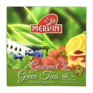 Цейлонский зелёный чай с фруктами Мервин (Gourmet Green Tea Bags, Mervin) ॐ Бутик ROSA