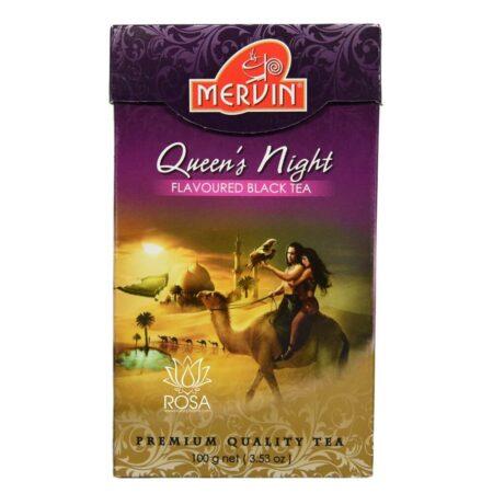 Цейлонский чай Королева Ночи (Queen's Night, Mervin) ॐ Бутик ROSA