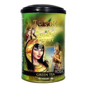Зеленый чай Сокровище Клеопатры (Teasor) ॐ Бутик ROSA