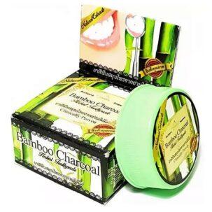 Зубная паста с углем бамбука (Wonder charcoal) купить в Бутике аюрведы премиум качества