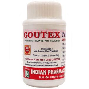 Гоутекс (Goutex Tablets, IPC) купить в Бутике аюрведы премиум качества ROSA