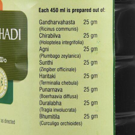 Гандхарвахастади Кватха (Gandharvahasthadi kwath, Nupal Remedies) ॐ Бутик ROSA