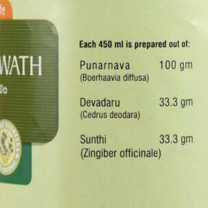 Пунарнавади Кватха (Punarnavadi kwath, Nupal Remedies) ॐ Бутик ROSA