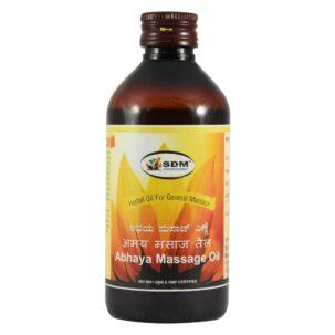 Sdm Abhaya Massage Oil 1