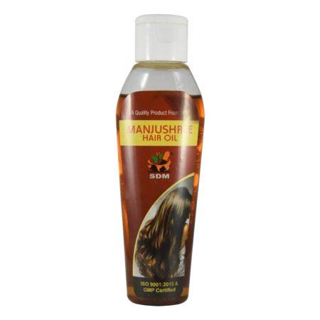Масло для волос Манчжушри (Manjushree Hair Oil, SDM) ॐ Бутик ROSA