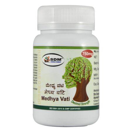 Медха вати (Medhya Vati DS, SDM) ॐ Бутик ROSA