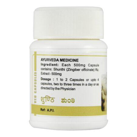 Шунти (Shunti capsules, SDM Ayurveda Pharmacy) ॐ Бутик ROSA