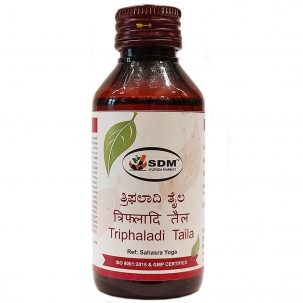 Трифалади тайла (Thiphaladi thaila, SDM) купить в Бутике аюрведы премиум качества ROSA