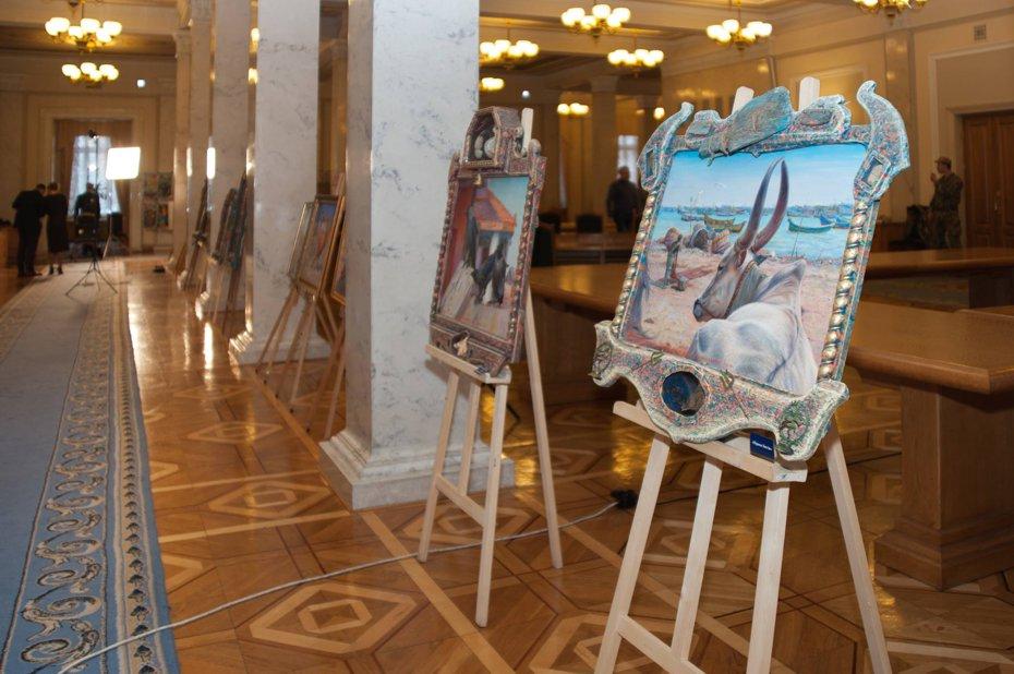 """Выставка """"Украина-Индия"""" в Верховной Раде ॐ Бутик ROSA"""