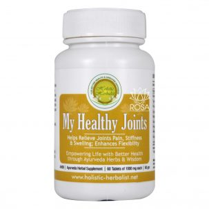 Holistic Herbalist My Healthy Joints 1